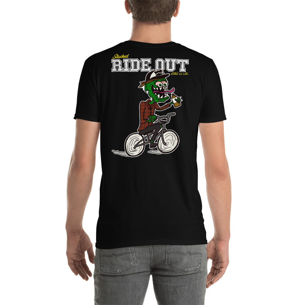 Stacked - RIDE OUT Original T-shirt Black