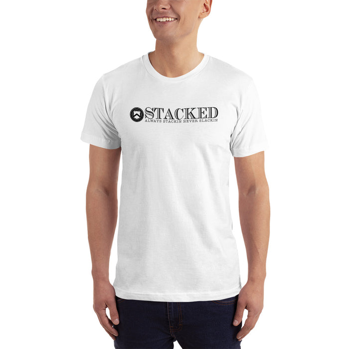 Stacked - Always Stackin T-shirt White