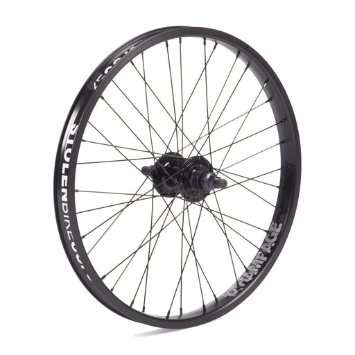 "Stolen BMX - 20"" Rampage cassette wheel All Black"