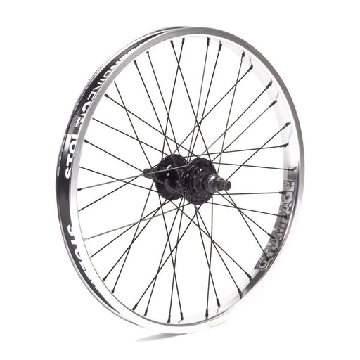 "Stolen BMX - 20"" Rampage cassette wheel Polished"