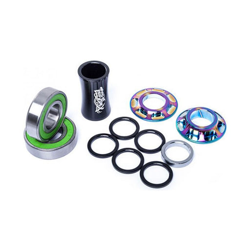 Total Bmx - Sealed Team Mid Bottom Bracket Rainbow