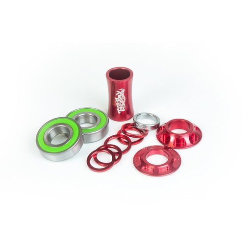 Total Bmx - Sealed Team Mid Bottom Bracket Red