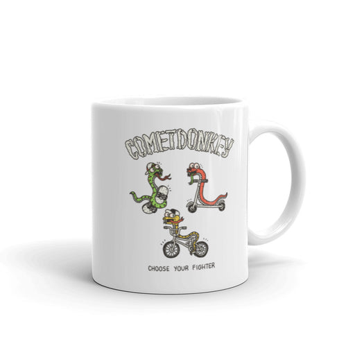 Snake fighters 110z coffee mug