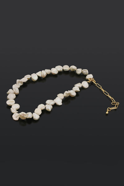 Vogue Natural Pearl Adjustable Necklace-[variant_title]-looksinn
