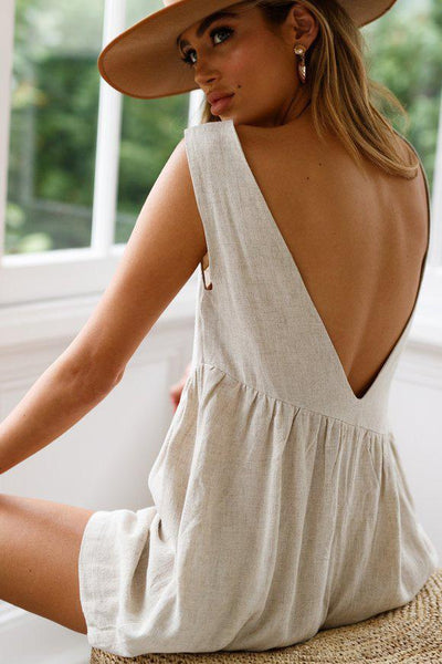 Sexy Loose-Fit Backless Romper-[variant_title]-looksinn