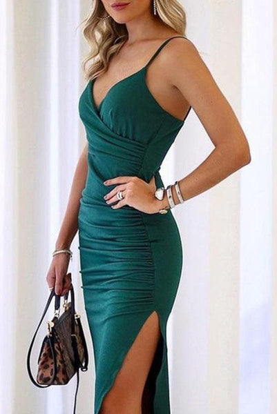 Sexy Split Spaghetti Strap Party Dress-[variant_title]-looksinn