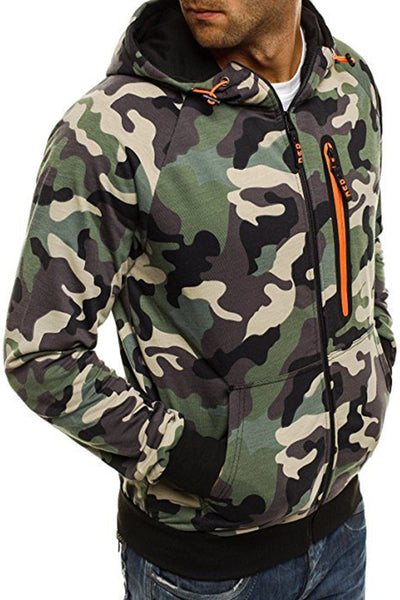 Casual Camouflage Printing Zipper Men's Jacket-[variant_title]-looksinn