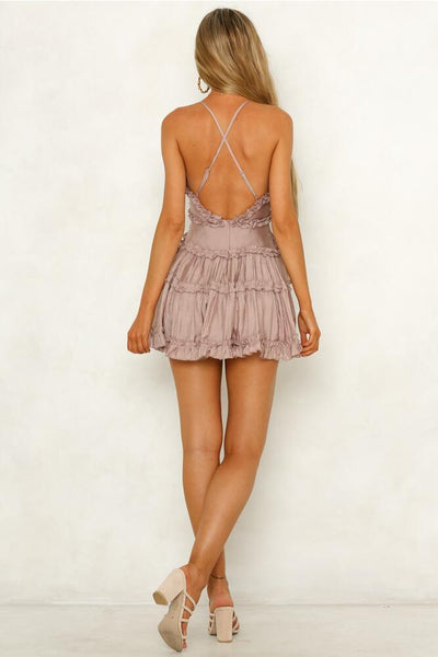 Chic Backless Ruffles A-Line Day Dress-[variant_title]-looksinn