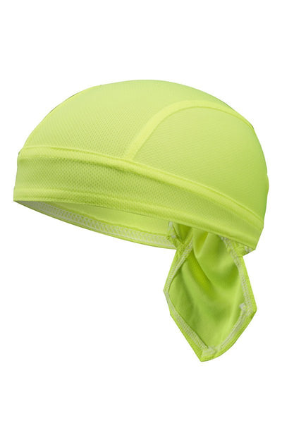 Solid Color Breathable Tie-Behind Men's Outdoor Cap-Yellow-looksinn