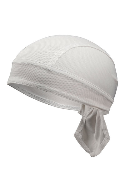 Solid Color Breathable Tie-Behind Men's Outdoor Cap-Gray-looksinn