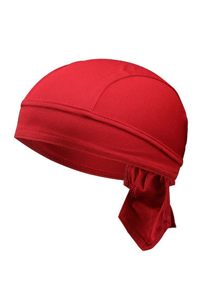 Solid Color Breathable Tie-Behind Men's Outdoor Cap-Burgundy-looksinn
