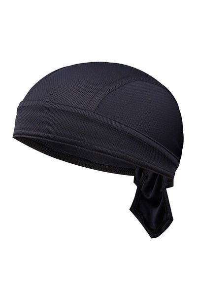 Solid Color Breathable Tie-Behind Men's Outdoor Cap-Dark Blue-looksinn