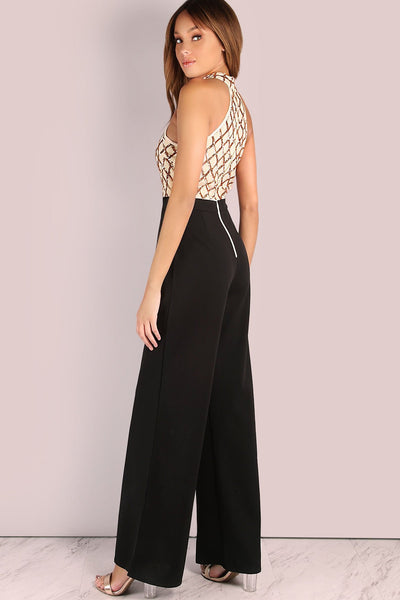 Vogue Round Neck Sleeveless Jumpsuit-[variant_title]-looksinn