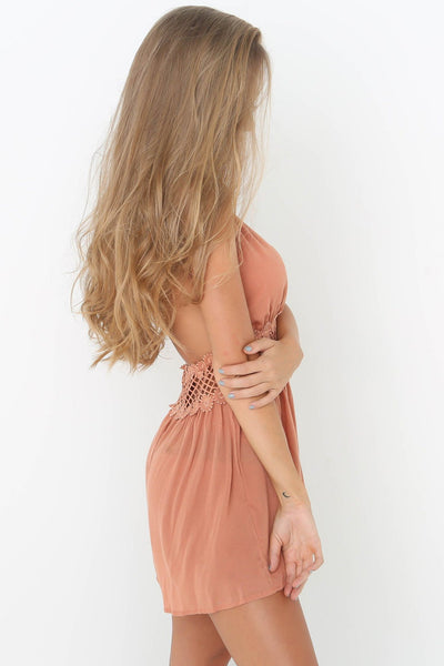 Sexy Lace-Trim Backless Romper-[variant_title]-looksinn