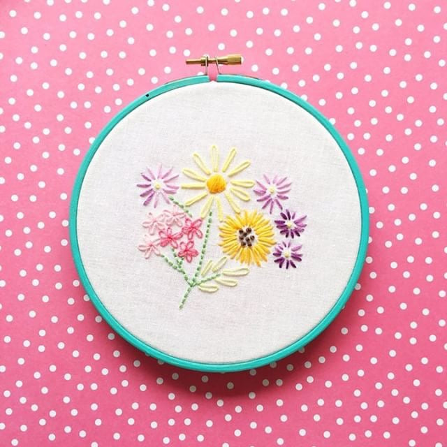 Sewing: Hand Embroidery for Beginners with HelloHoorayBlog! - The York Makery