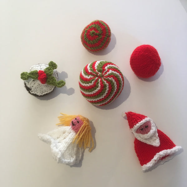 Knitting: Christmas Decorations - The York Makery