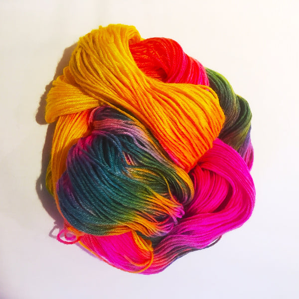 Hand dyed yarn: Puck 4ply - The York Makery