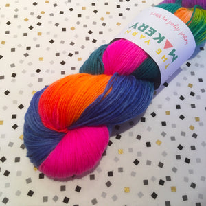 Hand dyed yarn: Caliban 4ply - The York Makery