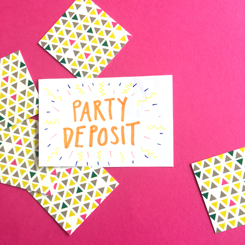 Party Deposit - The York Makery