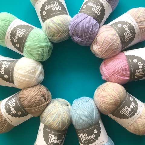 Bo Peep 4ply Baby Yarn - The York Makery