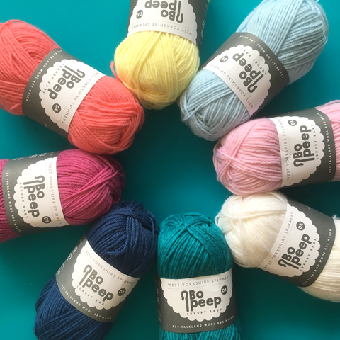 Bo Peep Baby Yarn DK - The York Makery