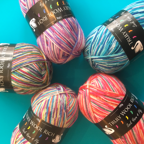 Cygnet Variegated Sock Yarn - The York Makery