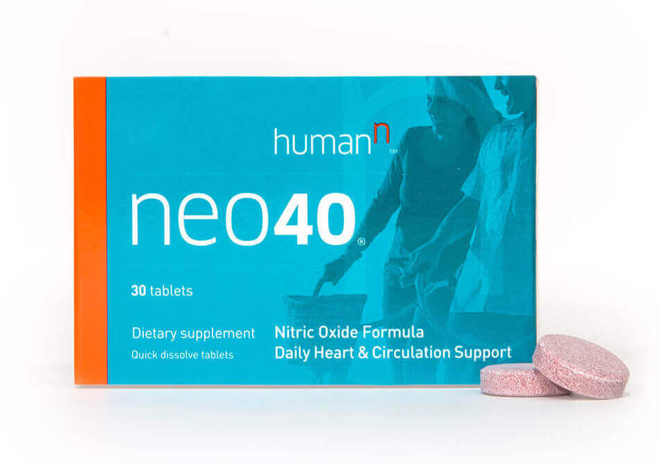 Box of Neo40 with two tablets