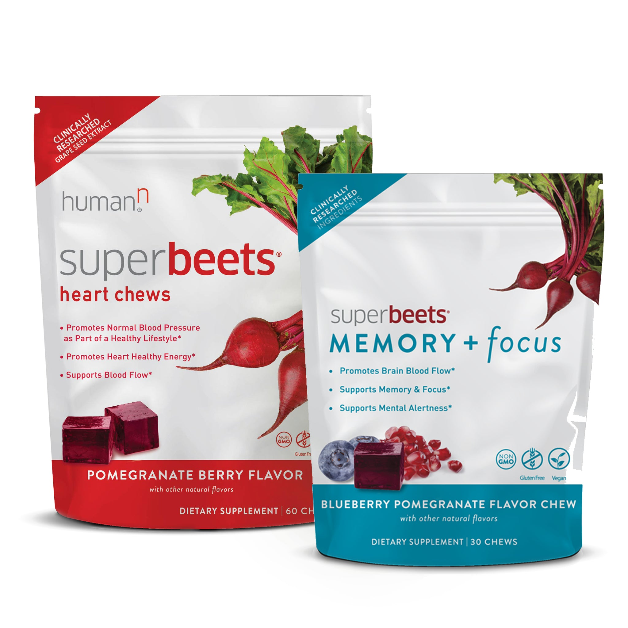 SuperBeets® Memory + Focus & Heart Chews Special
