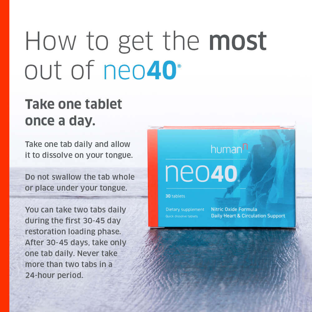 Informative text on how to get the most from Neo40