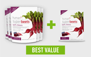 SuperBeets® Soft Chews Special + Travel Bag