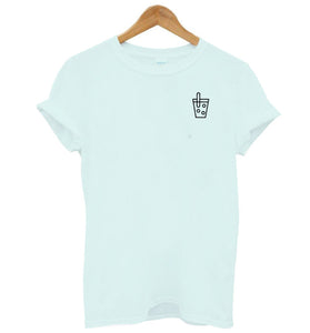 BOBA Cup Icon Simple Shirt - 4 colors