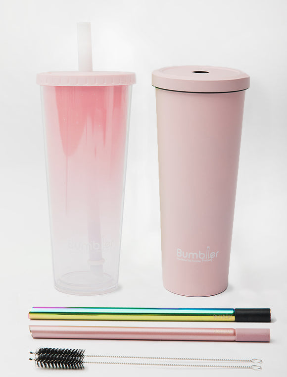 1 Original, 1 Stainless Steel, 2 Straws - 20% Discount