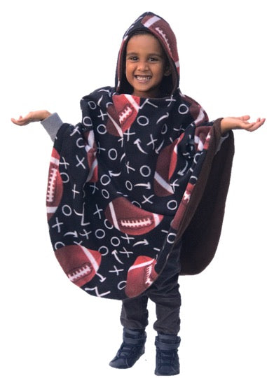 Football Ponchee Set