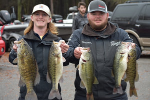 Hammer Rod's Ty Cox and Partner Fisher Young Claims University of North Alabama Winter Invitational