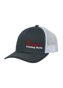 Hammer Trucker Fit Cap - Charcoal & White