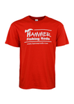 Hammer Fishing Rods Shirt - Red