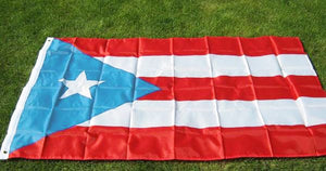 light blue puerto rico flag