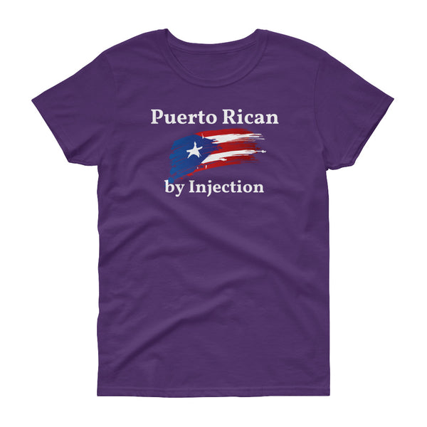 PuertoRican by Injection - Women's t-shirt