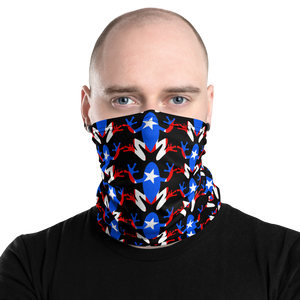 Coqui Pattern Neck Gaiter