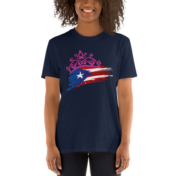 Puerto Rico Crown -Unisex T-Shirt