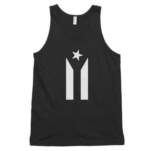 Puerto Rico Black Flag - Tank top (unisex)