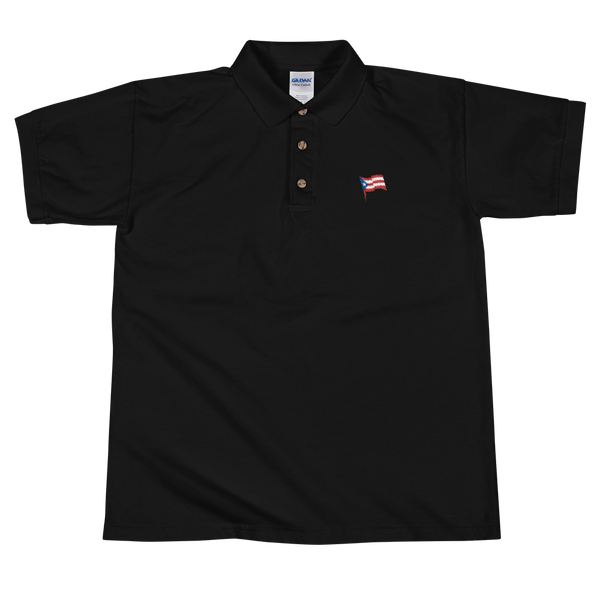 puerto rico flag polo shirt