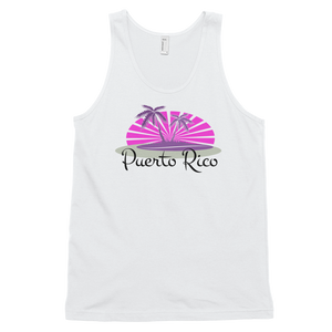 Puerto Rico Tank top (unisex) Palm trees