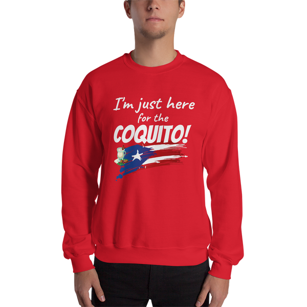 Just here for the COQUITO - Unisex Sweatshirt