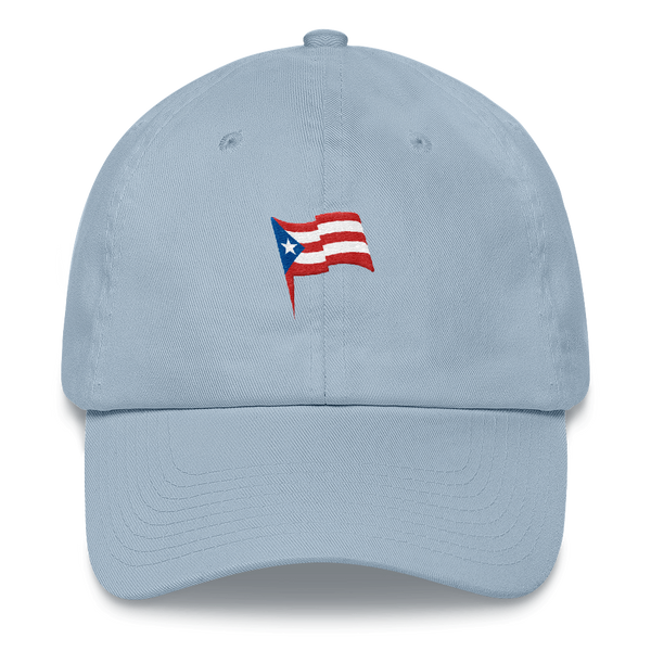 puerto rico light blue hat