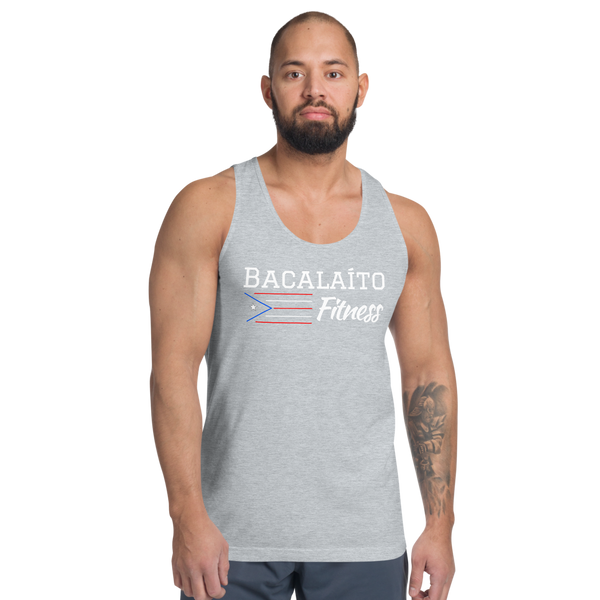 Bacalaito Fitness tank top (unisex)