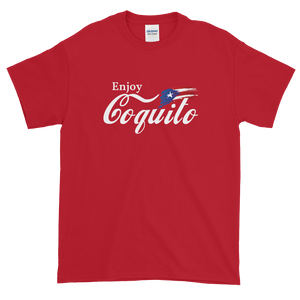 Enjoy Coquito - Short-Sleeve T-Shirt