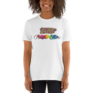 Colorful Puerto Rico T-Shirt design