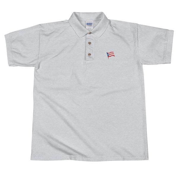 Puerto Rico flag - PRF Original Embroidered Polo