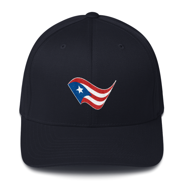 Puerto Rico PR Embroidered Flag Hat
